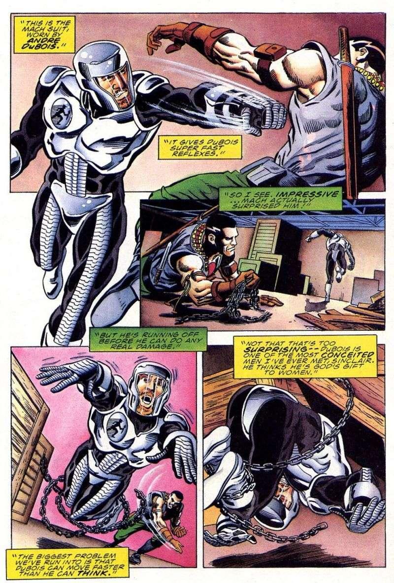 Read online Secret Weapons comic -  Issue #11 - 20