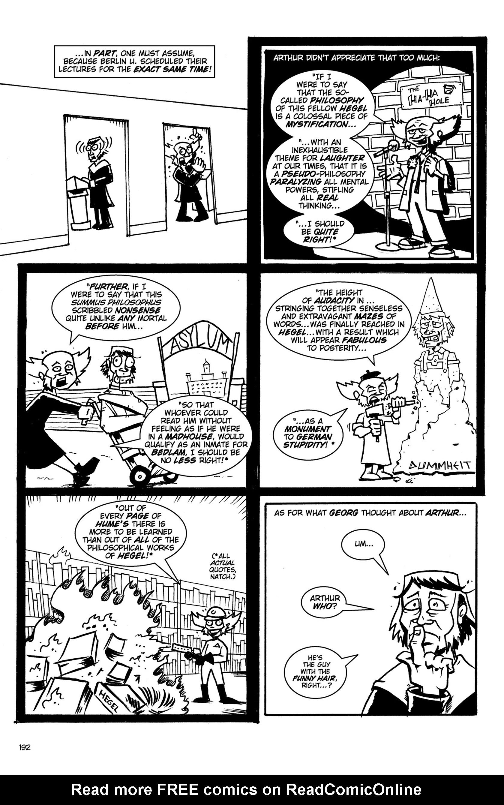 Read online Action Philosophers! comic -  Issue #Action Philosophers! TPB (Part 2) - 20