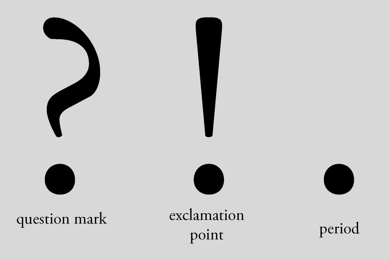 Punctuation Exclamation Point Symbol