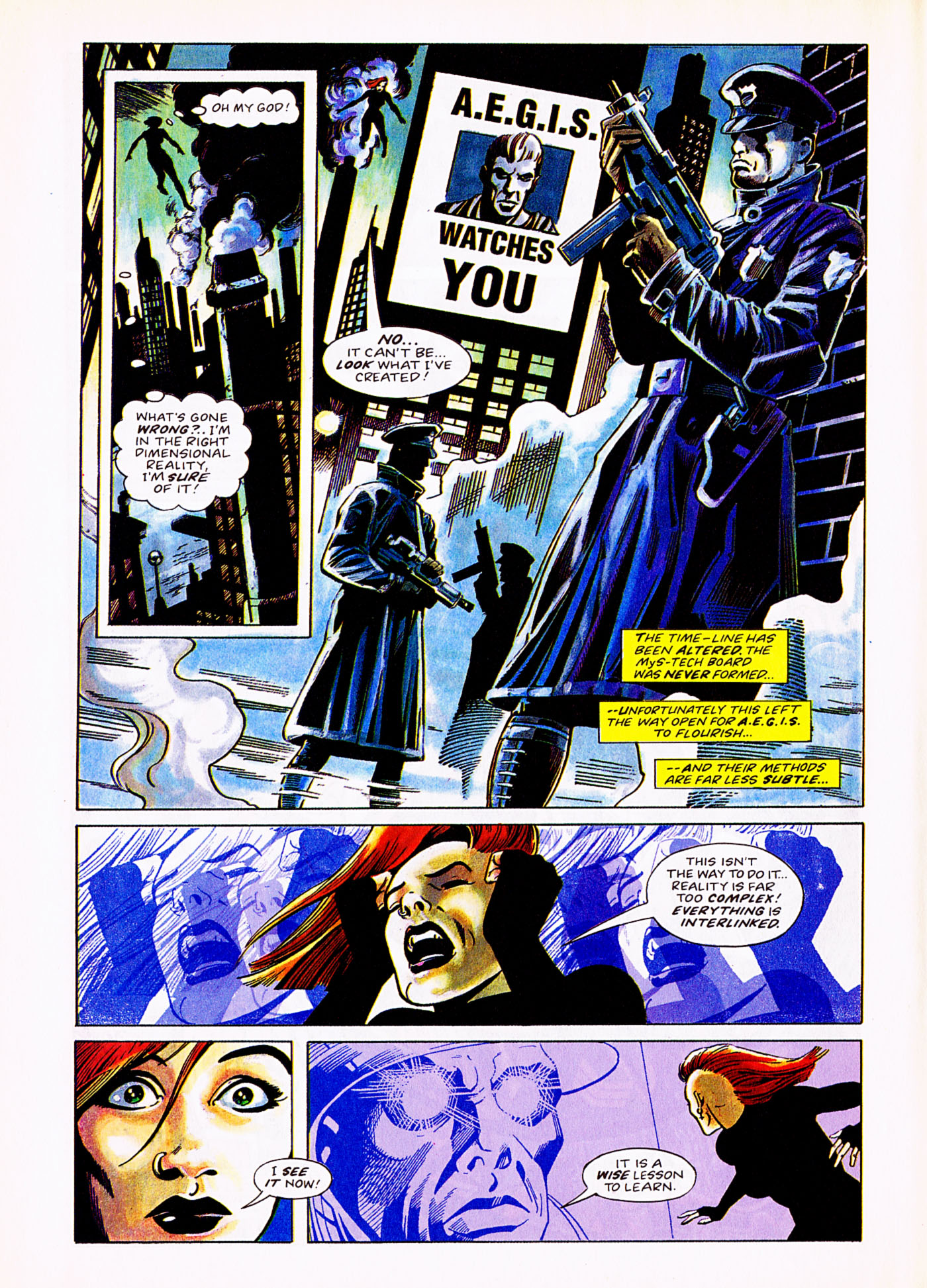 Read online Overkill comic -  Issue #5 - 6