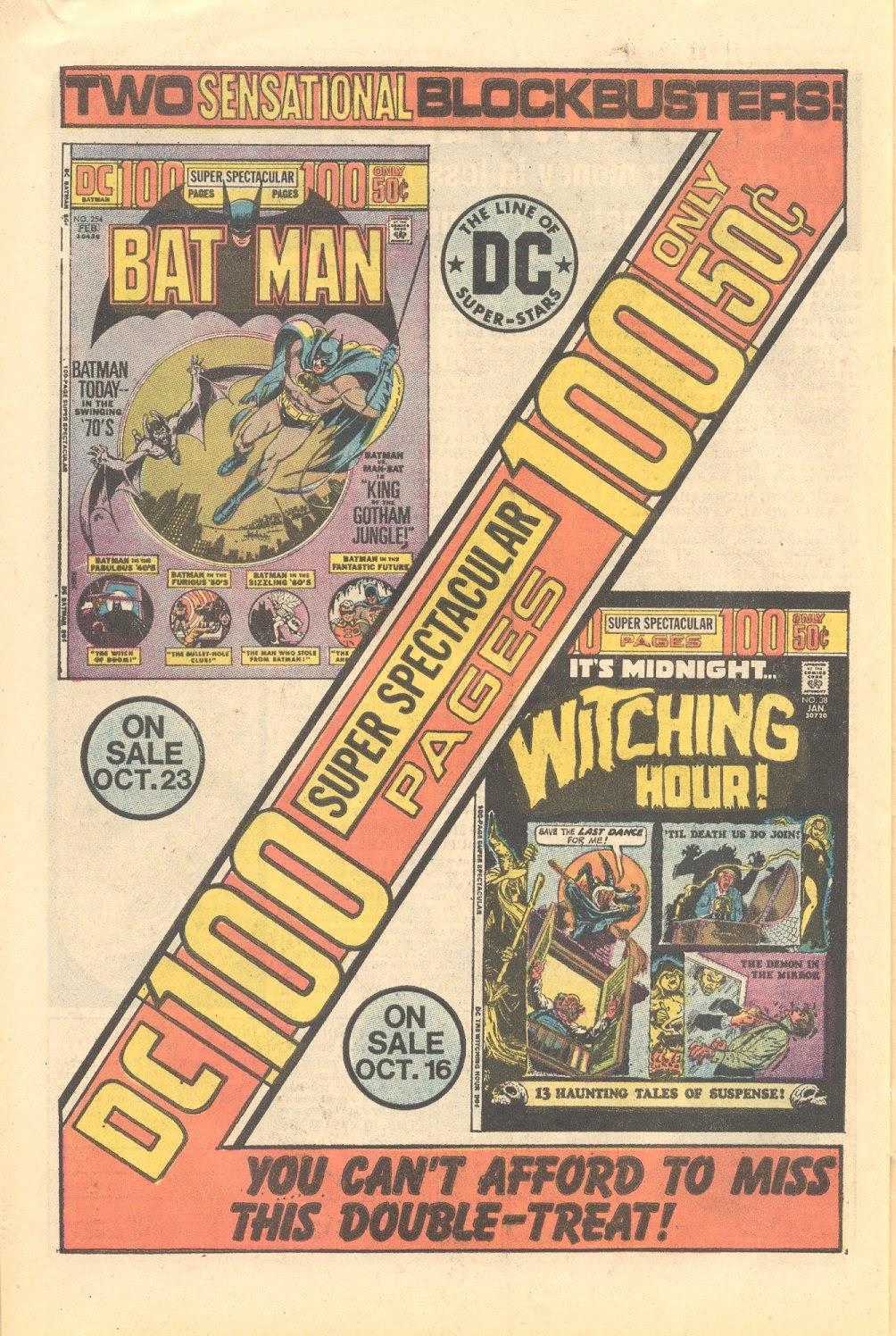 Read online Strange Sports Stories (1973) comic -  Issue #3 - 20