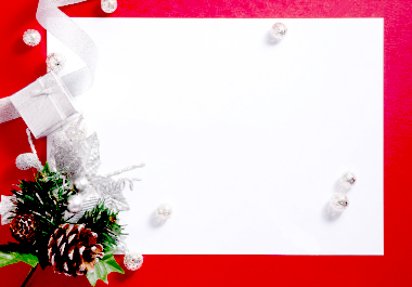 """Benevolent ghosts: Greeting Card """" Merry Christmas"""