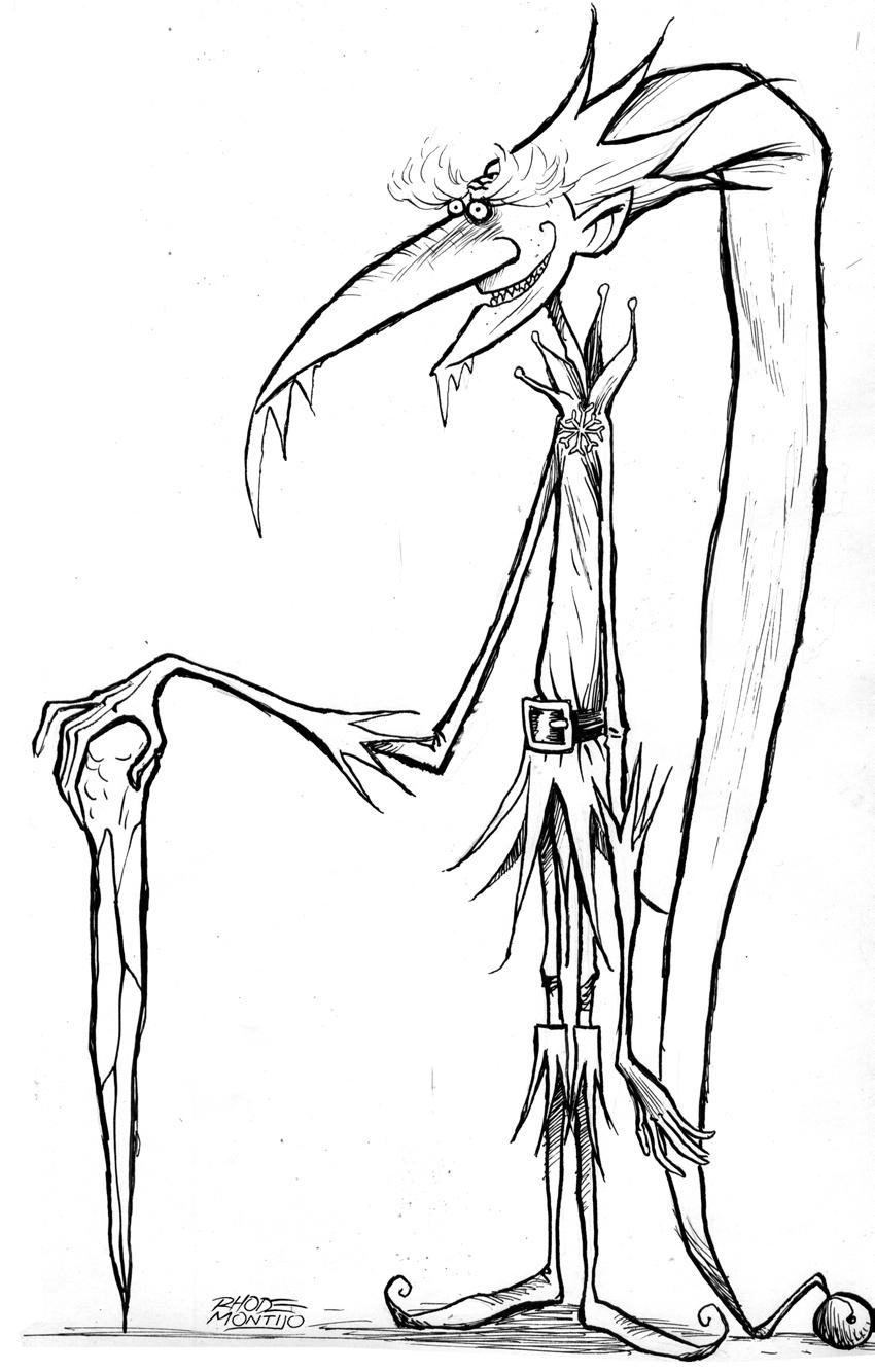 The Fantasmical Rhode Montijo Blog: Searle-y Drawings