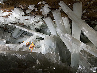 Cave of the crystal
