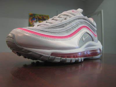 0bff789891 ATMOS: new arrival: women's nike air max 97 - silver/pink