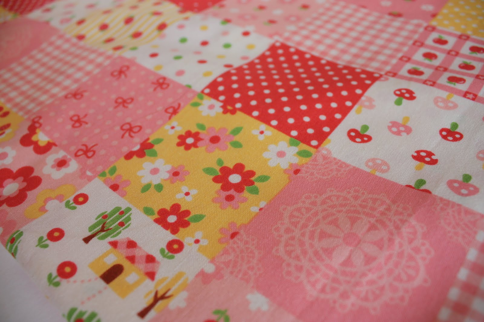 Fabric Cuteness Overload - Diary of a Quilter - a quilt blog