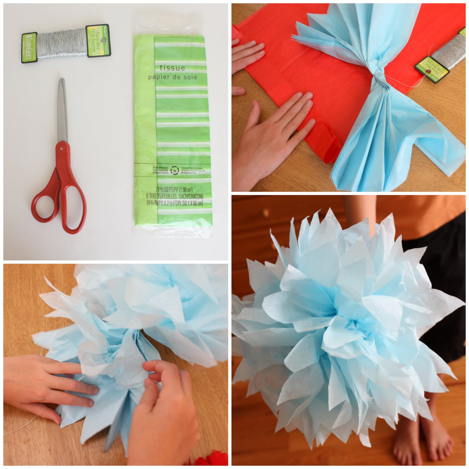 Tissue Paper Flower Craft Vatozozdevelopment