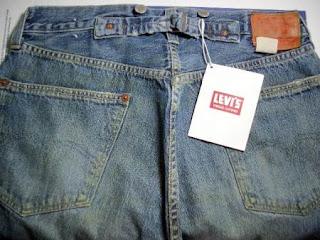 b7c09148fa7 Maurz13 Depot: New LEVI'S LVC 501xx 1933 Buckleback Selvedge Jeans W30
