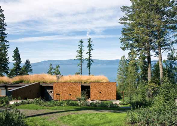 Stone Creek Camp in Montana by Andersson Wise Architects