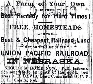 Western Kentucky Genealogy Blog: Newspaper Ads Entice Settlers