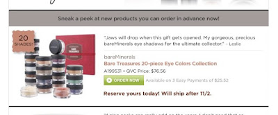 QVC - Bare Treasures