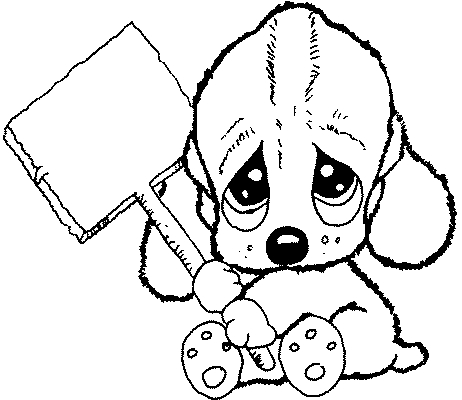 Perritos Bebés Bonitos Para Pintar Imagui