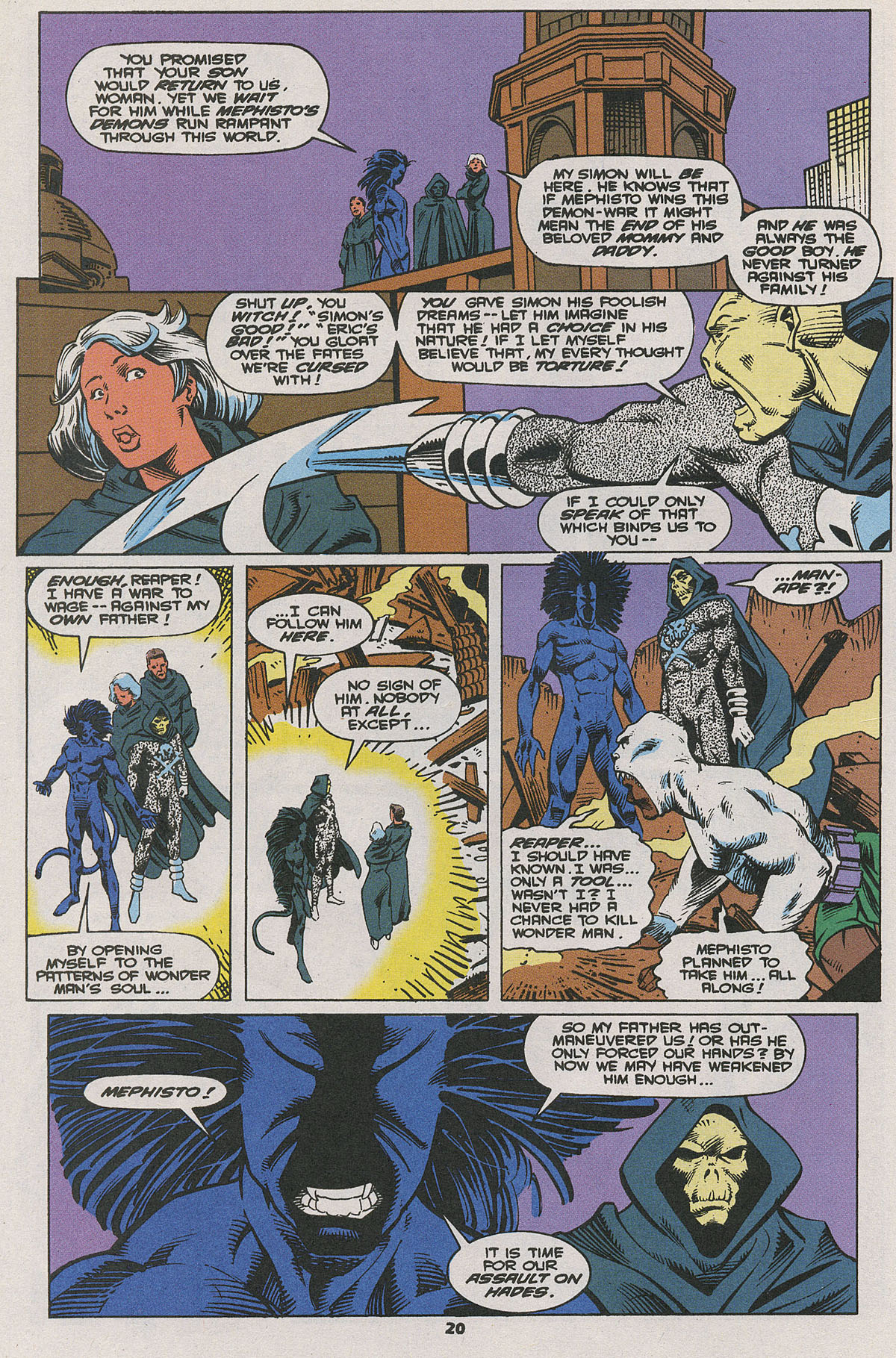 Read online Wonder Man (1991) comic -  Issue #25 - 16