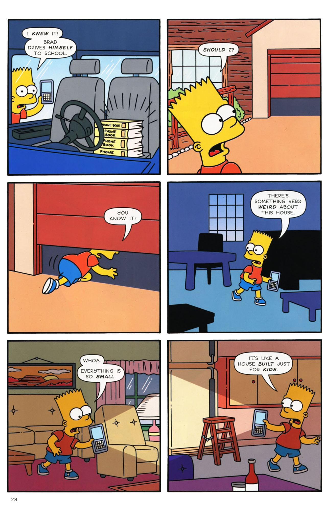 Read online Simpsons Comics comic -  Issue #169 - 22