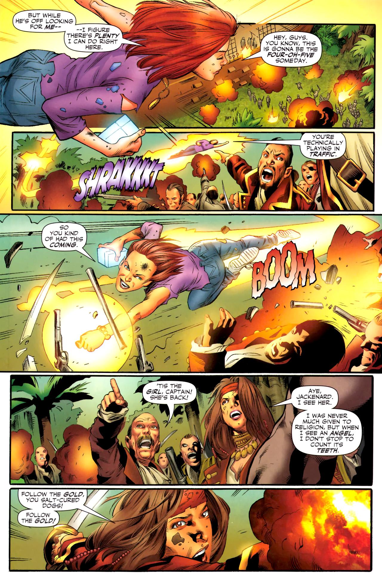 Read online Sigil (2011) comic -  Issue #4 - 10