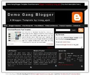 blogger template gang blogger