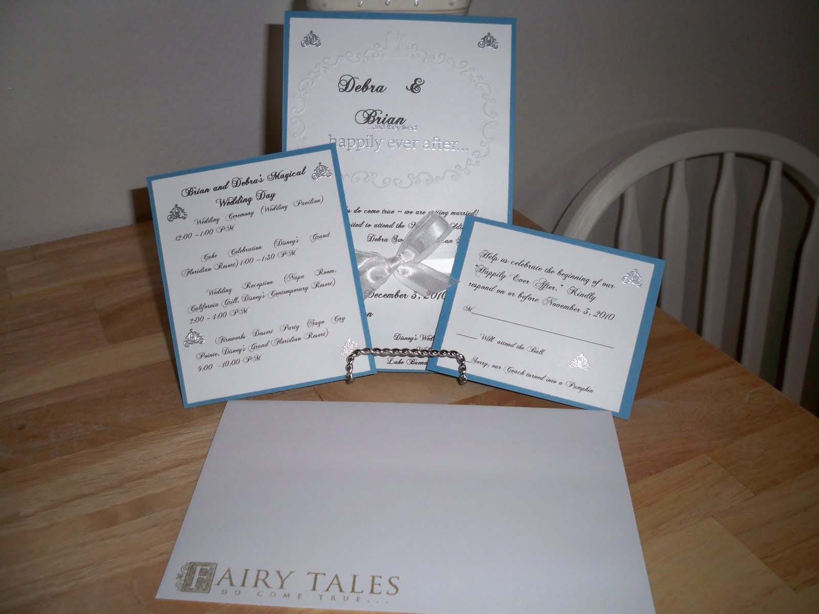 Wedding Invitations Disney: Kim's Stampin' Space: Disney Fairy Tale Wedding Invitations