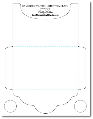 Envelope Writing Sheets: Free Images! | Cathe Holden's
