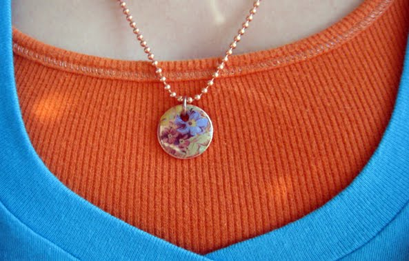 Decal Penny Pendants: Group Project | Cathe Holden's