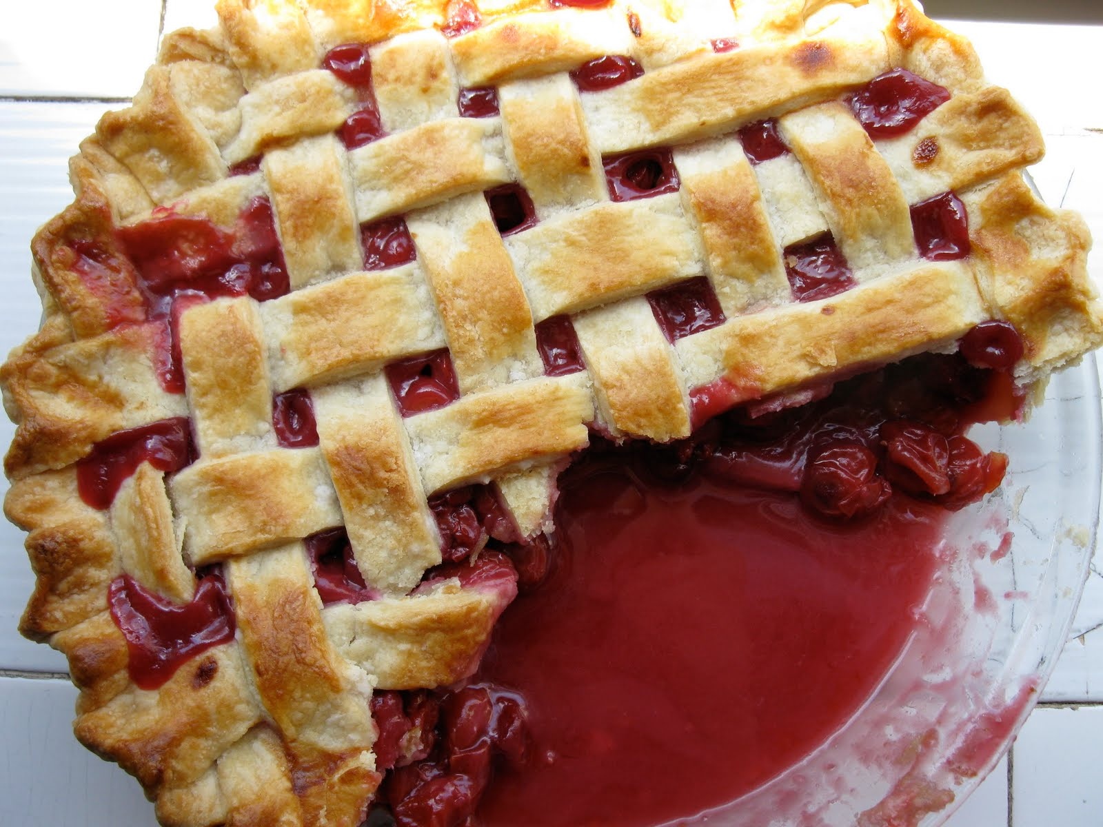 Sour Cherry Pie Recipe — Dishmaps