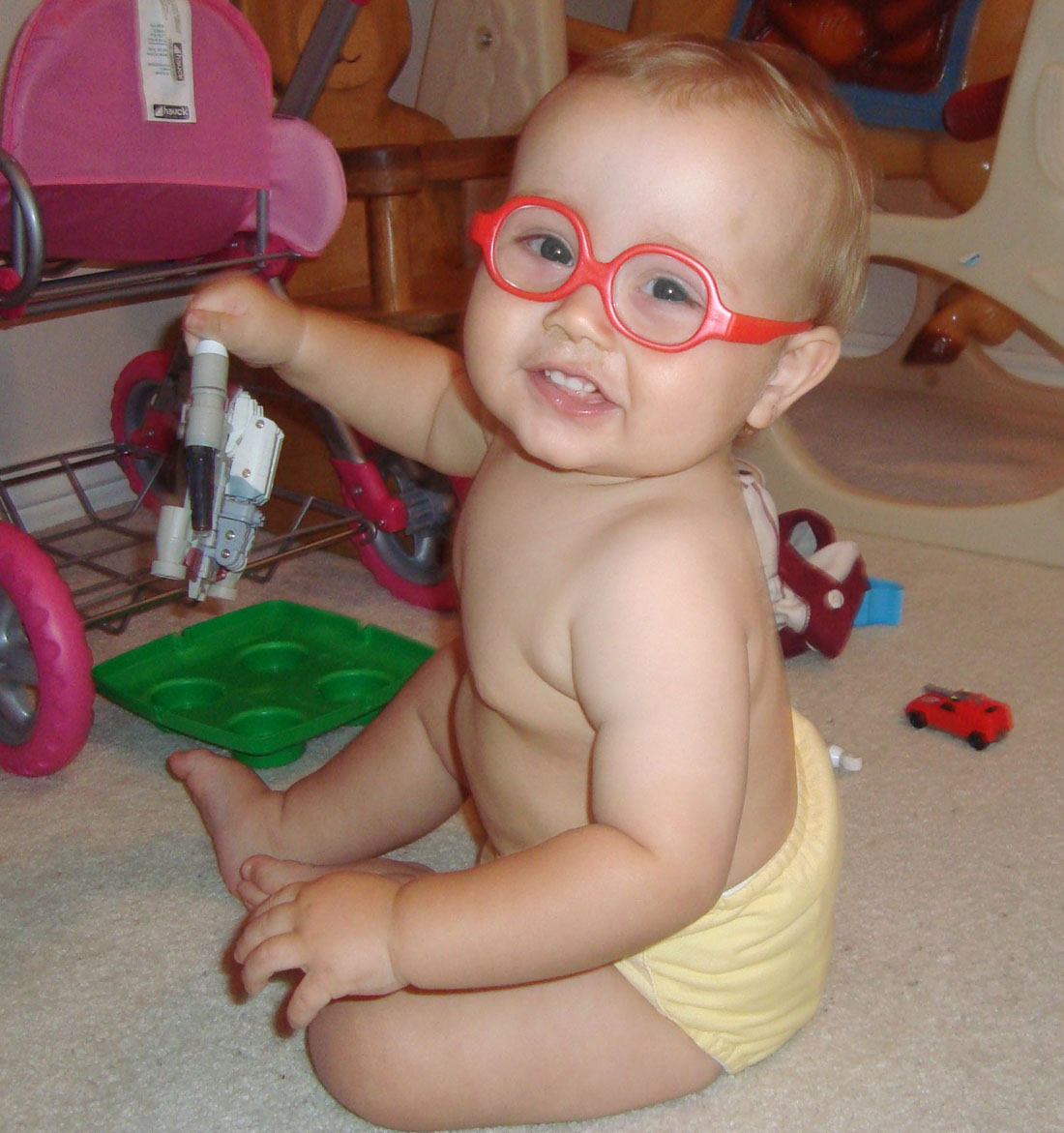 Wiggle Poke Giggle Zoom Baby Glasses