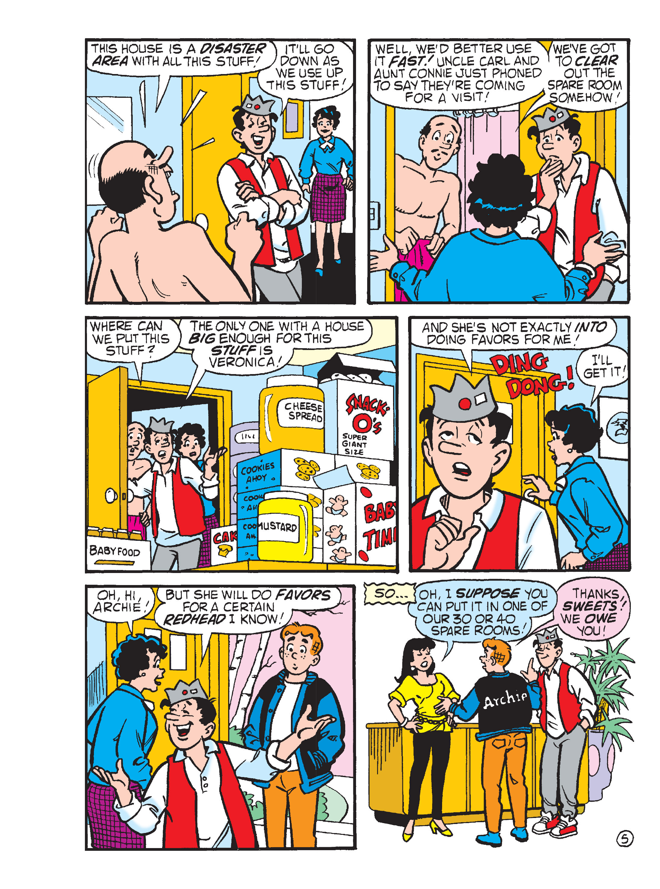 Read online Archie's Funhouse Double Digest comic -  Issue #13 - 78