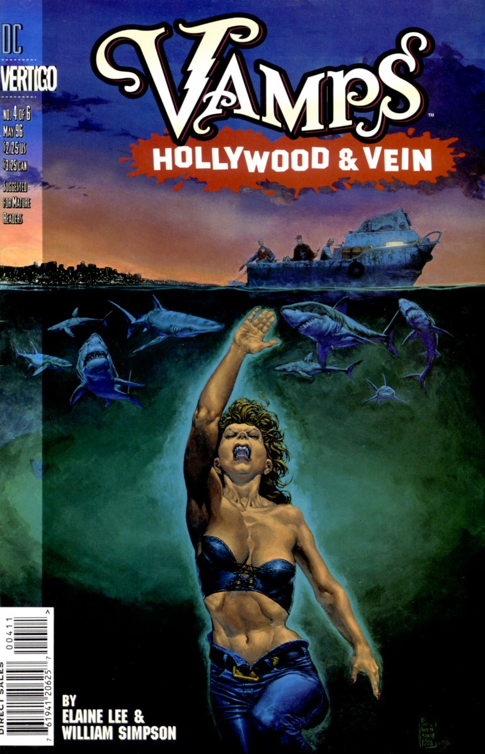 Vamps - Hollywood & Vein issue 4 - Page 1