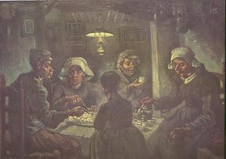 LA PATATA DE CELLA: Los comedores de patatas (Van Gogh)
