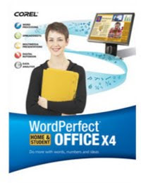 Corel WORD PERFECT OFFICE X4