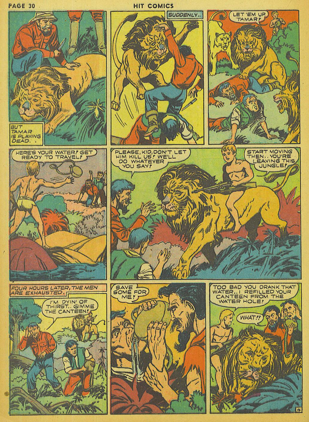 Read online Hit Comics comic -  Issue #13 - 32