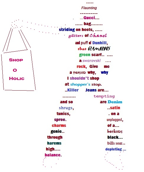 girl shape poem