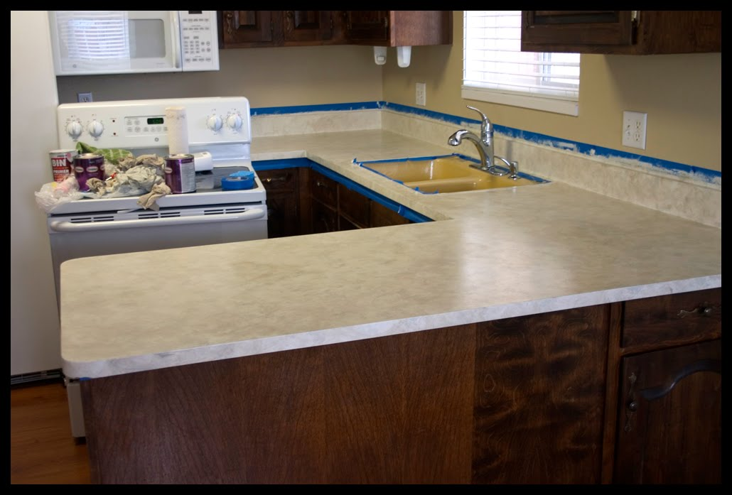 painted laminate countertops - photo #16