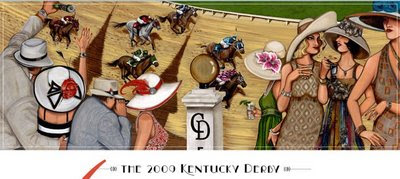 kentucky derby artwork 2009
