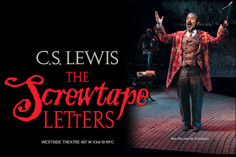 saw an adaption of the screwtape letters at the westside theater the ...