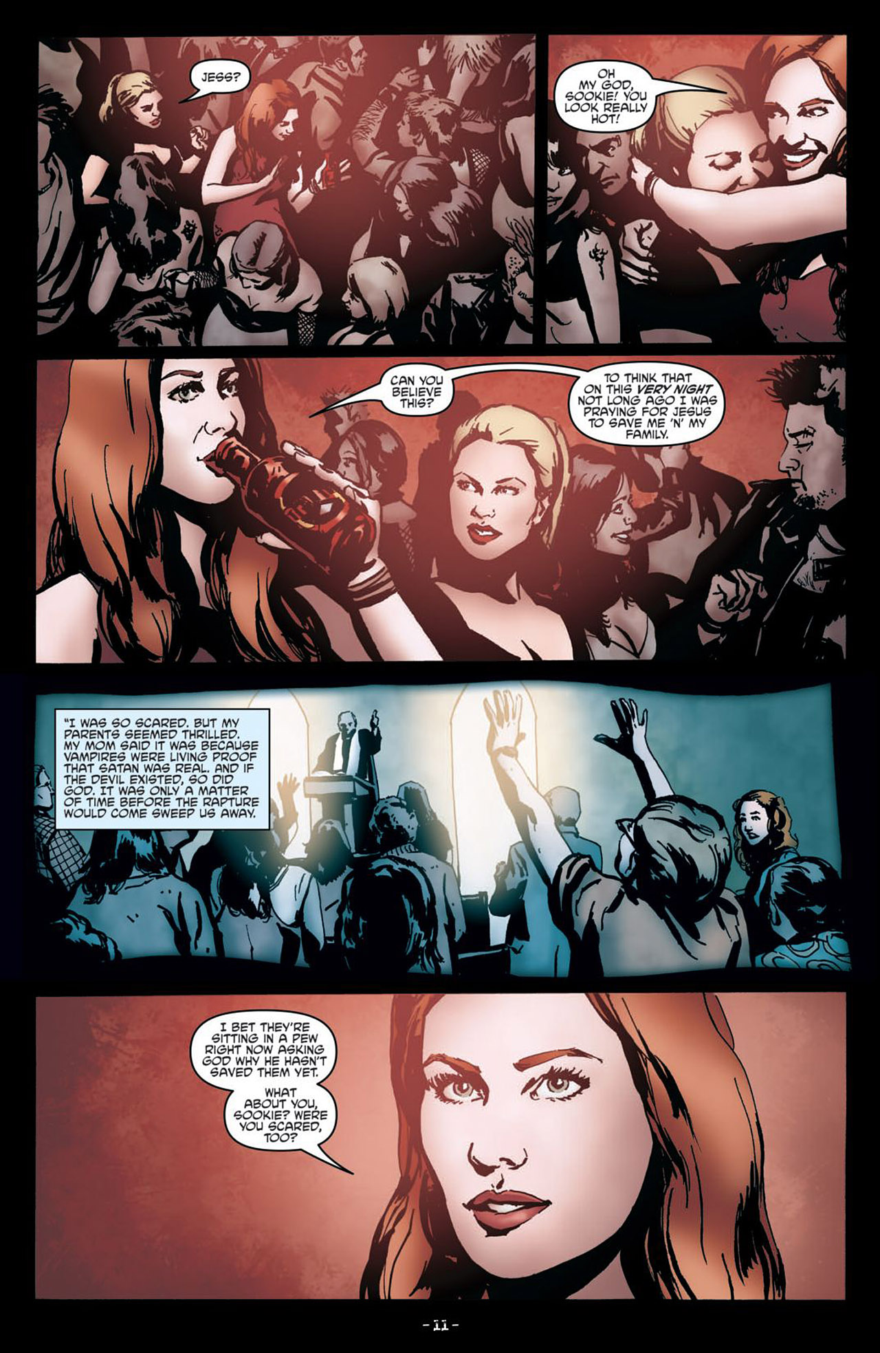 Read online True Blood (2012) comic -  Issue #1 - 14