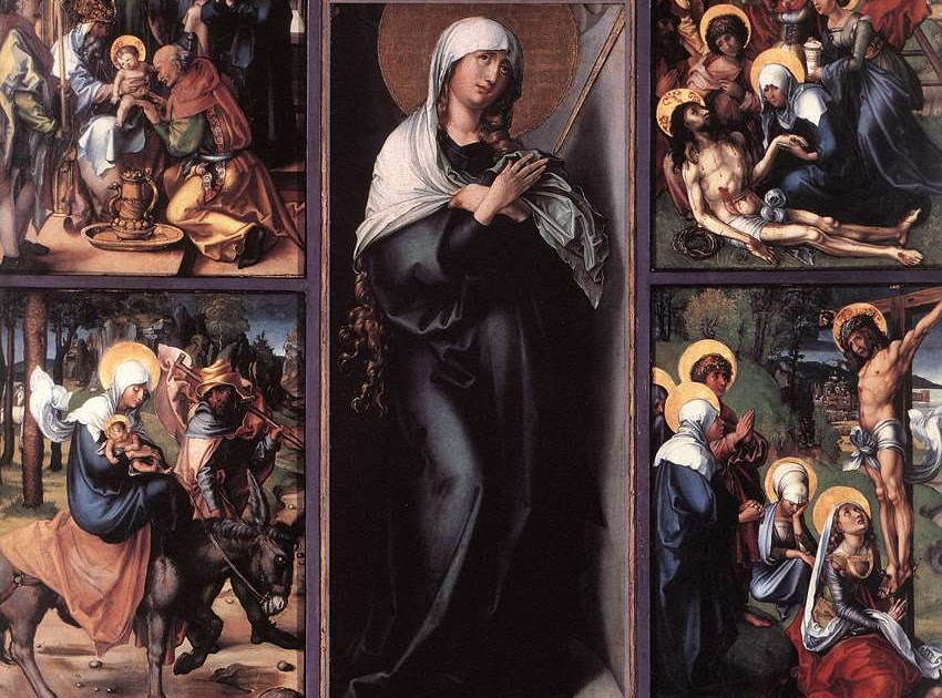 Seven sorrows of mary a meditative guide