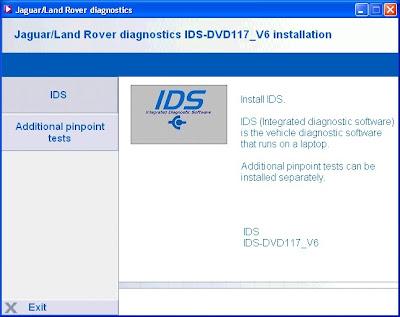 GLOBAL EPC AUTOMOTIVE SOFTWARE: JAGUAR LAND ROVER IDS v117 plus UPDATES