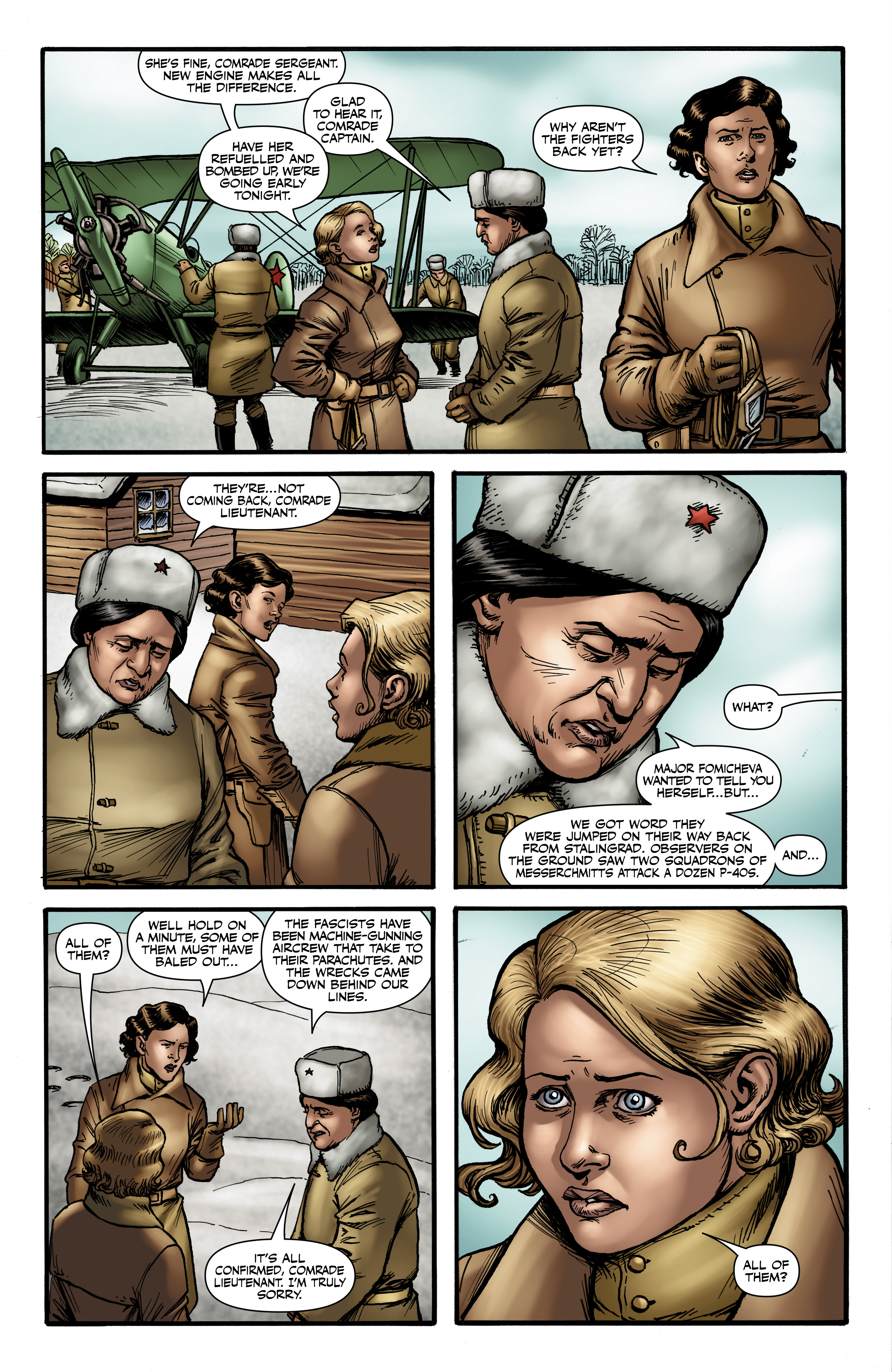 Read online Battlefields: Night Witches comic -  Issue # TPB - 58