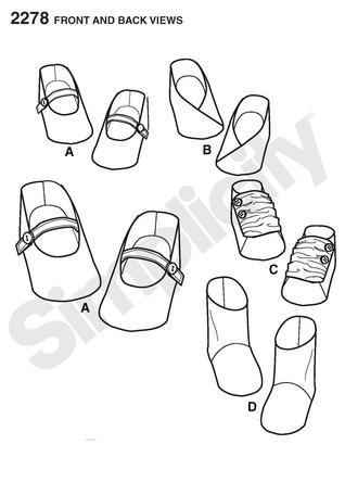 Free Baby Shoe Patterns