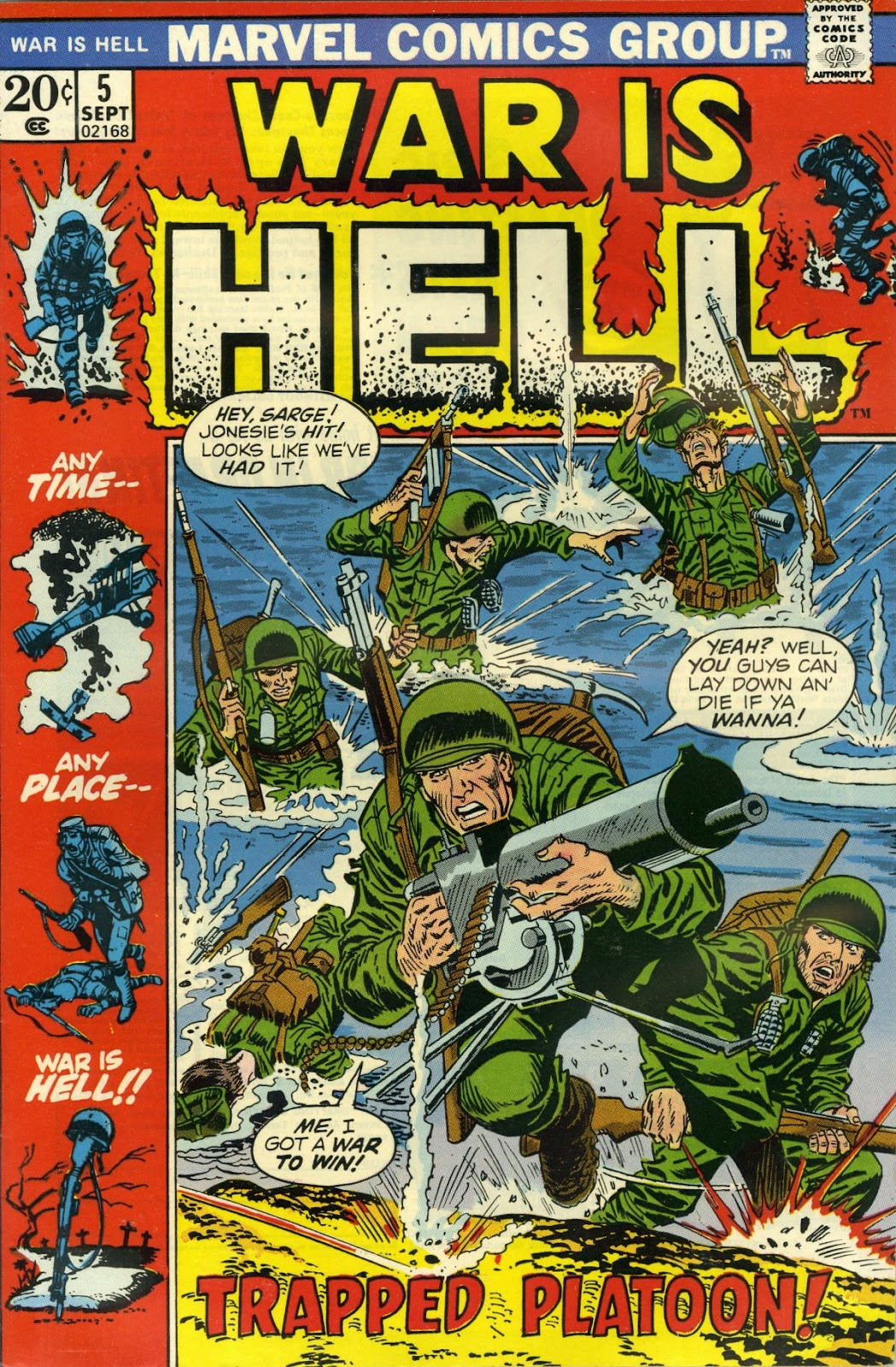 War Is Hell (1973) issue 5 - Page 1