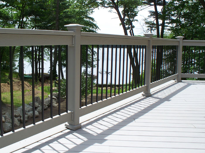 Outdoor Living: Rialings part 3 - composite pvc options