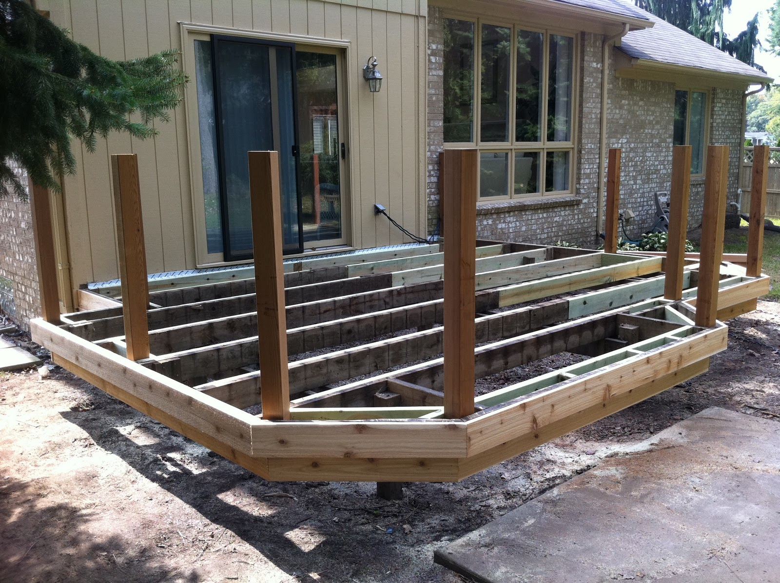 Outdoor Living Deck Recover Or Replacement Review Of A