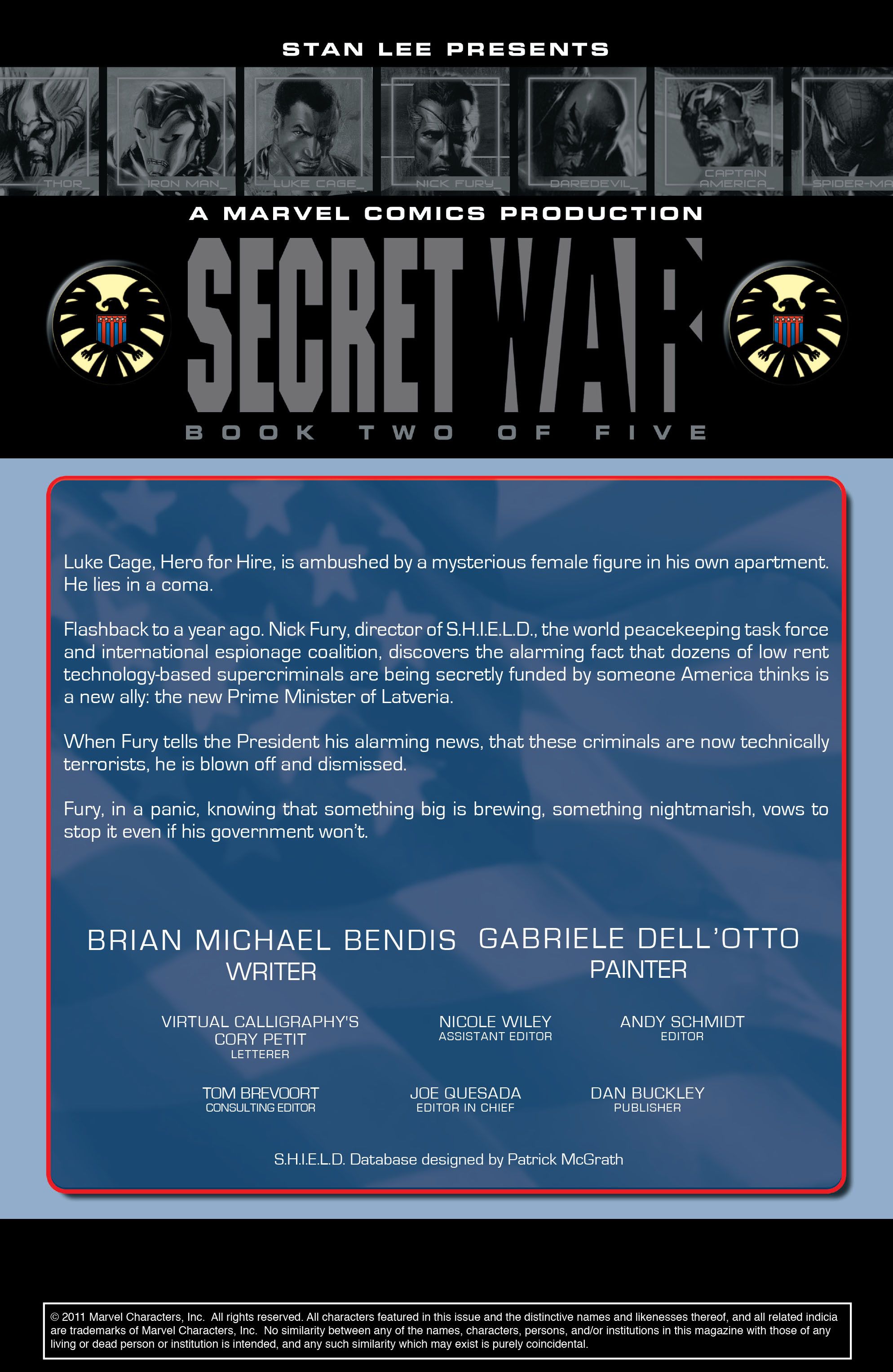 Read online Secret War comic -  Issue # Full - 29