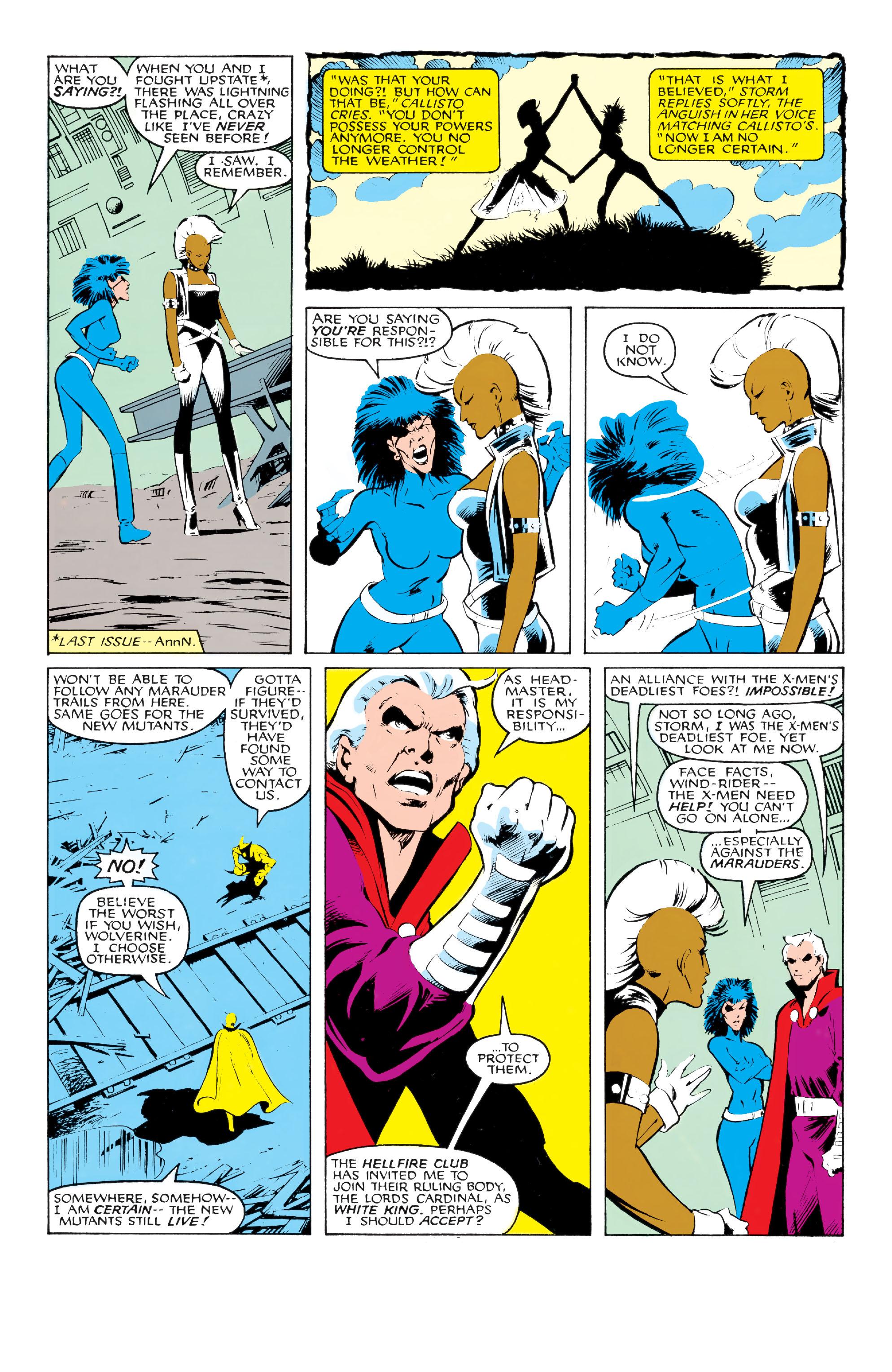 Read online Uncanny X-Men (1963) comic -  Issue #213 - 7