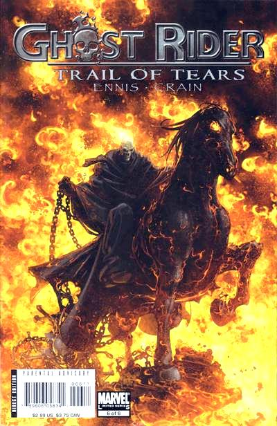 Once Upon A Time In The West In Comics: A Field Guide to Ghost Rider(s)