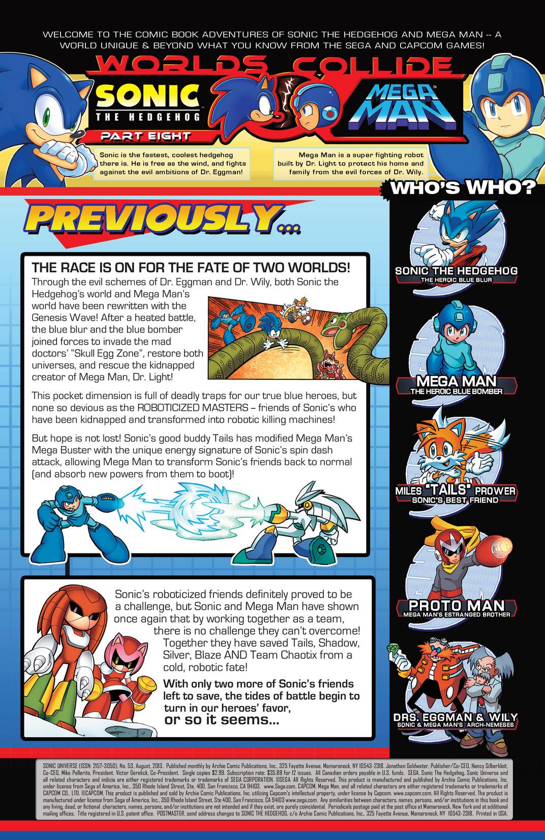 Read online Sonic Mega Man Worlds Collide comic -  Issue # Vol 2 - 84