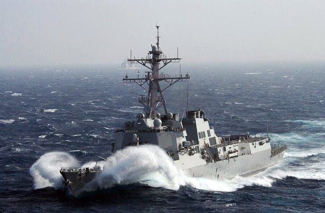 navy ship: us navy war ship in rough sea wallpaper