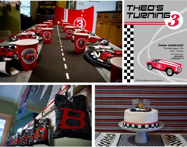 Race Car Birthday Party: Yarah Designs: Race Car Themed Birthday Party