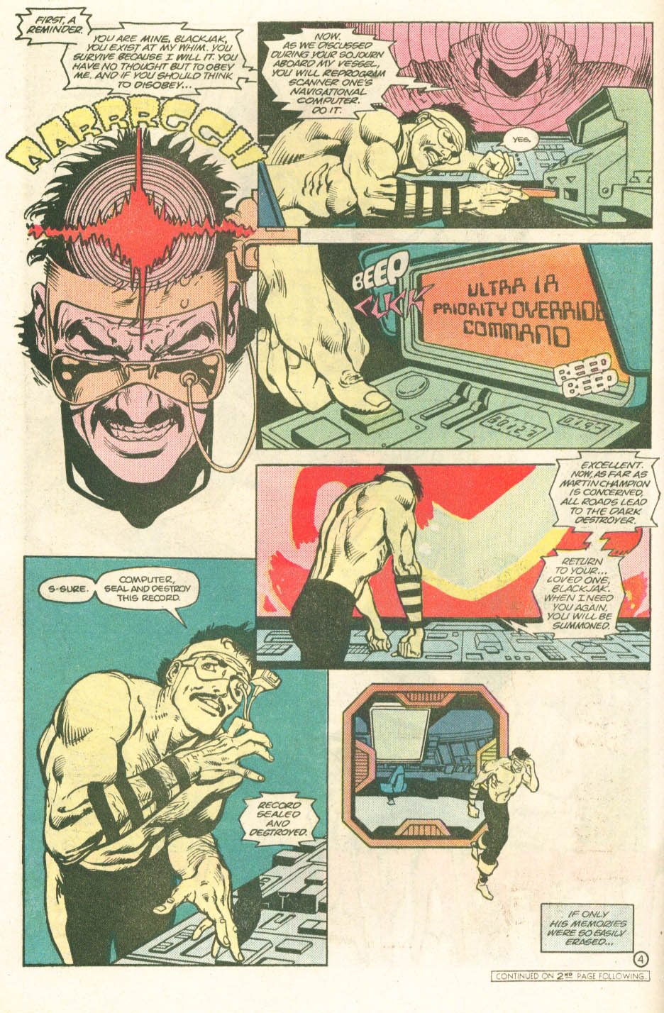 Read online Atari Force (1984) comic -  Issue #11 - 6