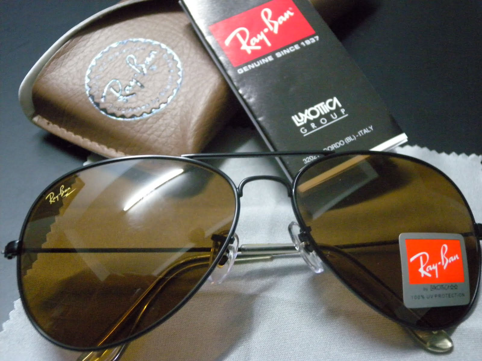 2d2d35758e Original Ray Ban Aviators Vs Fake « Heritage Malta